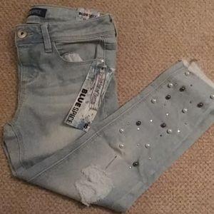 Girls size 8 Blue Spice jeans